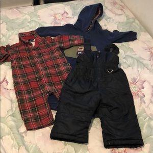 Bundle of Winter Clothes